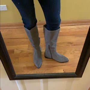 Seychelles Suede Knee High Boots size 7